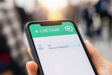 Live Chat on Mobile