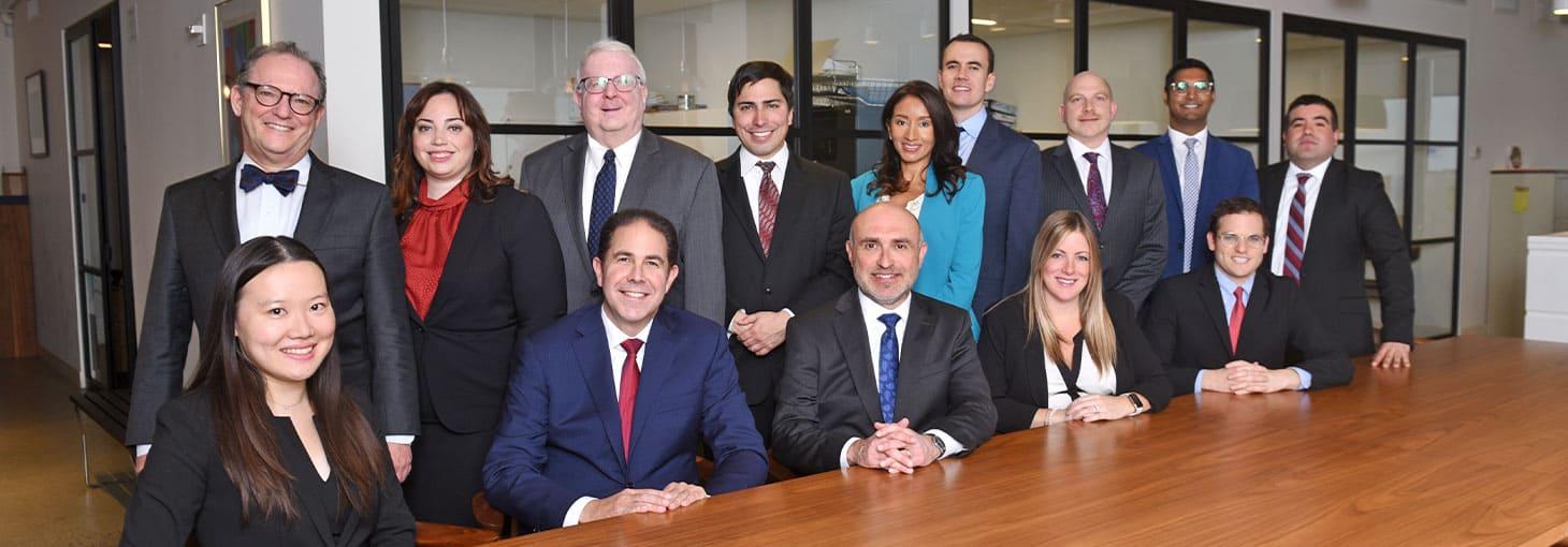 Jacob D. Fuchsberg lawyers at New York City office