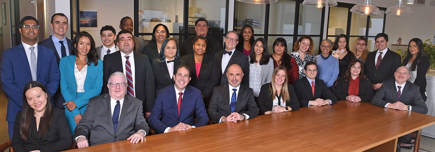 Jacob D. Fuchsberg lawyers and paralegals at New York City office