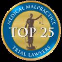 top medical malpractice trial lawyers award