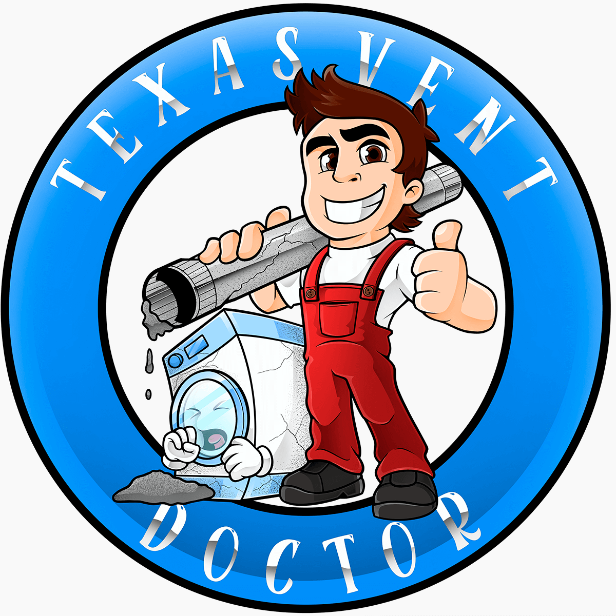 This is the Texas Vent Doctor logo