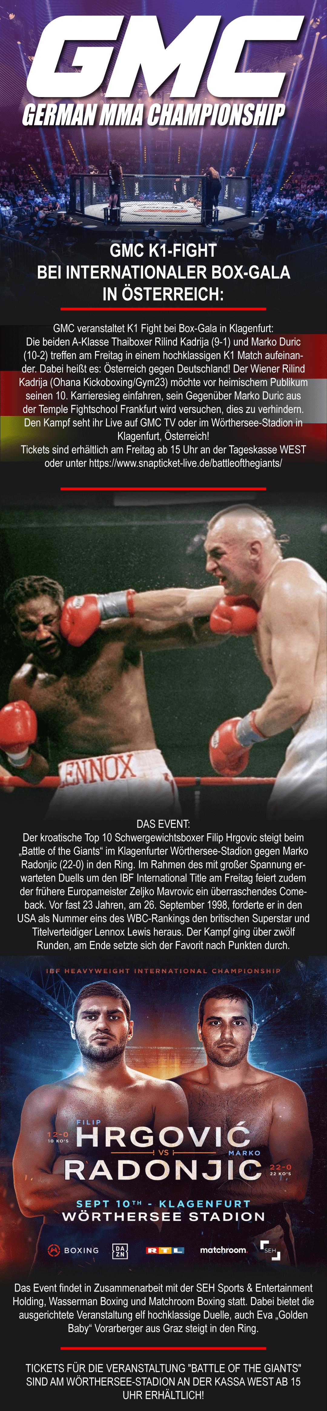 210910 GMC K1 Fight | Internationale Box-Gala