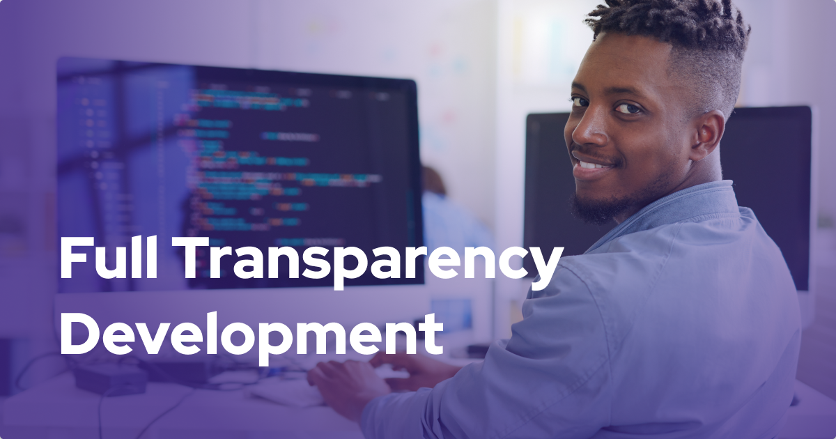 How Full Transparency Development meets and complements key fundamentals of agile development.