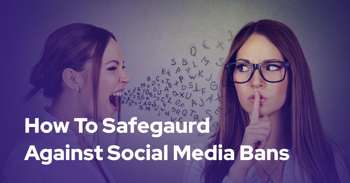 How Community Groups Can Safeguard Against Social Media Deplatforming