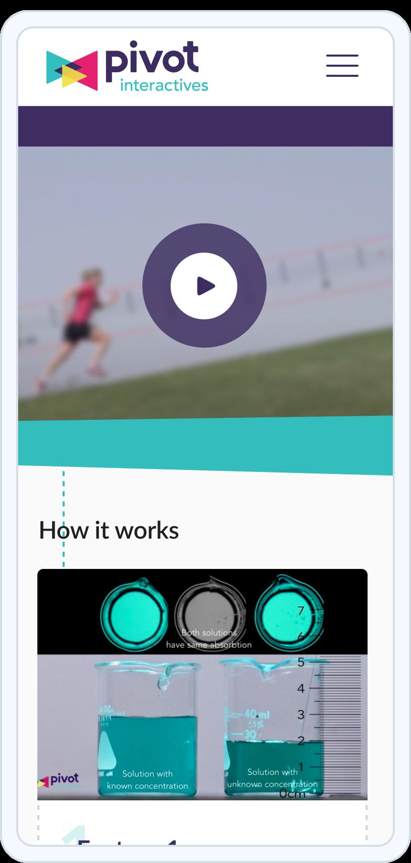 Pivot Mobile UI