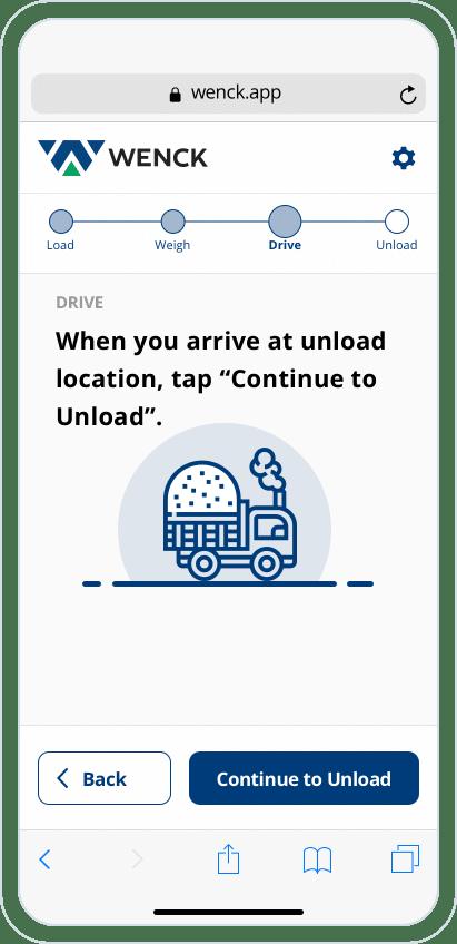 Wenk Mobile UI