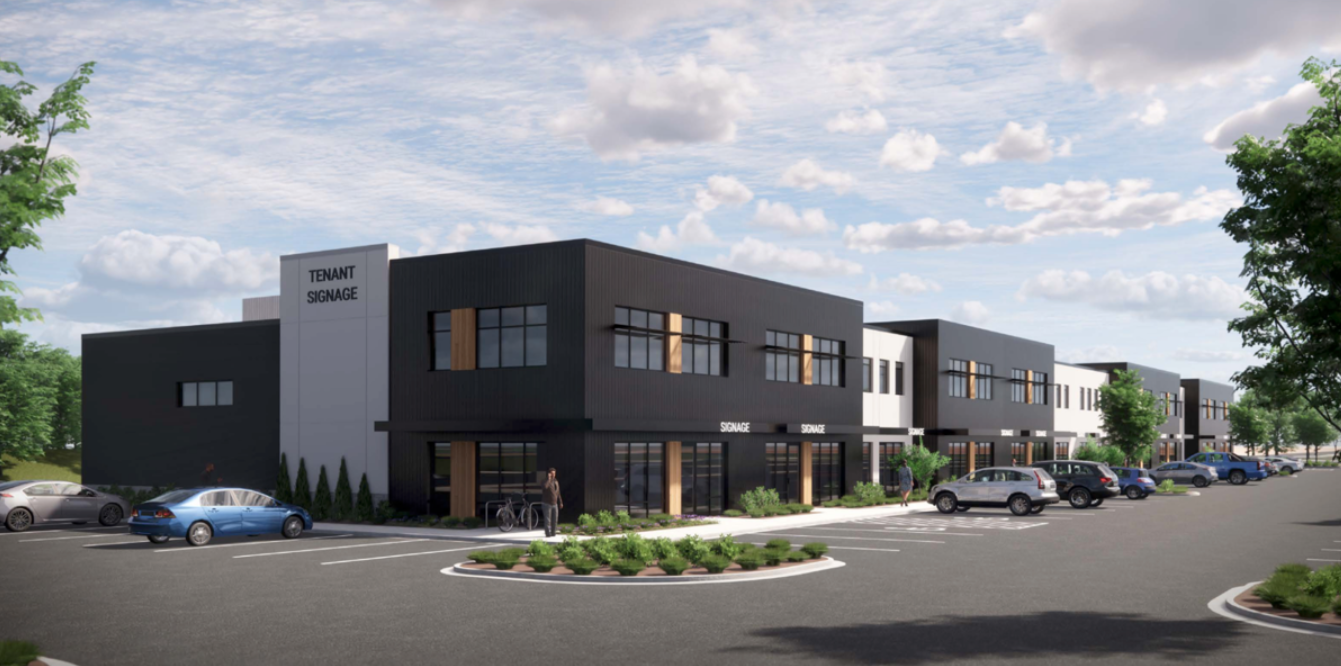 Meridian breaks ground on planned flex office space
