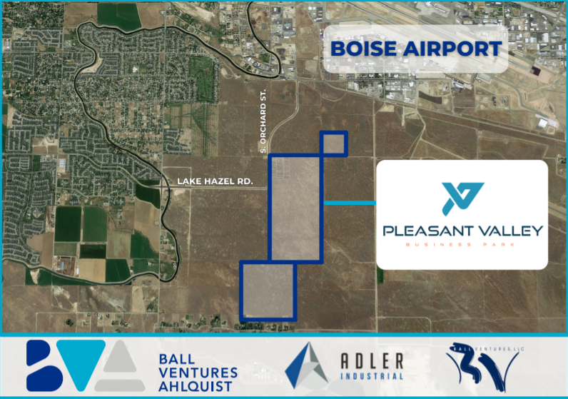 Industrial park near airport will span 520 acres