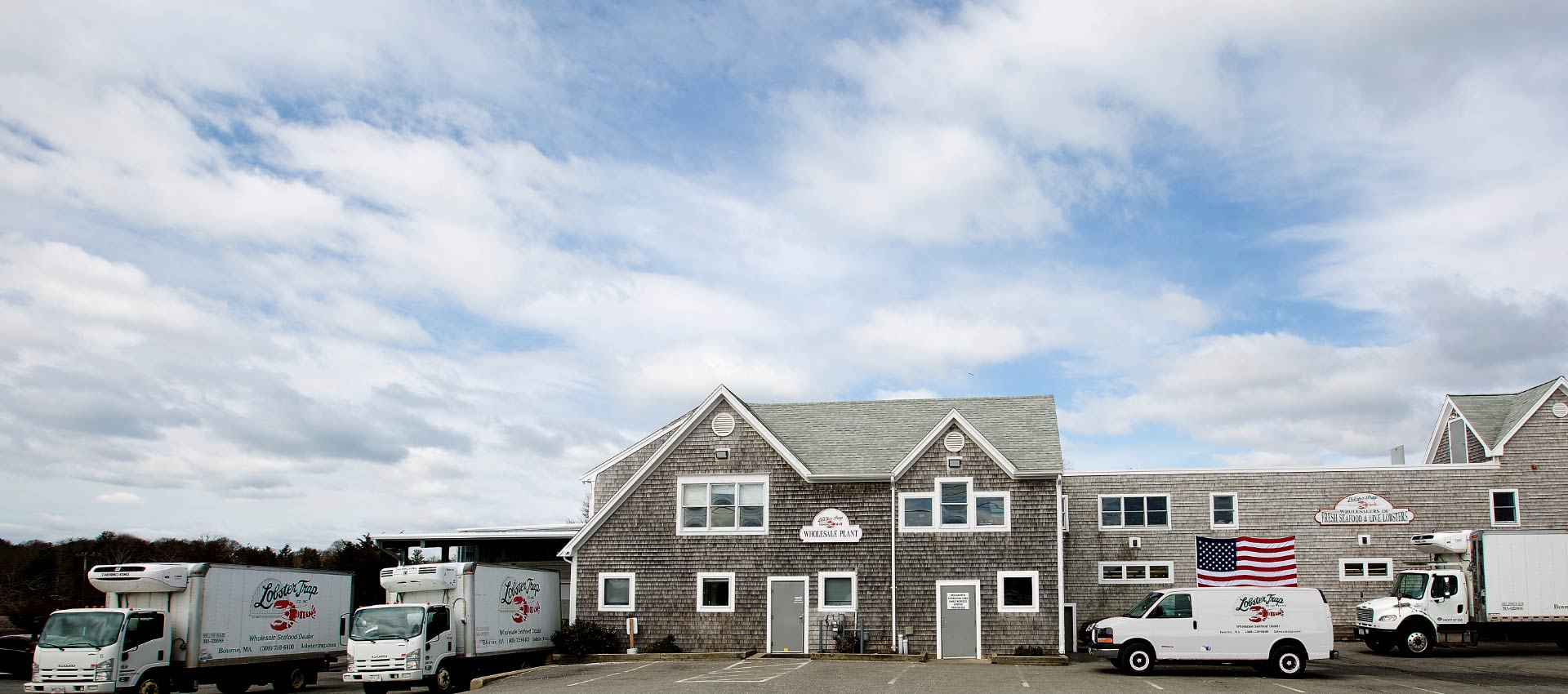 The Lobster Trap Co Wholesale Plant in Bourne, MA