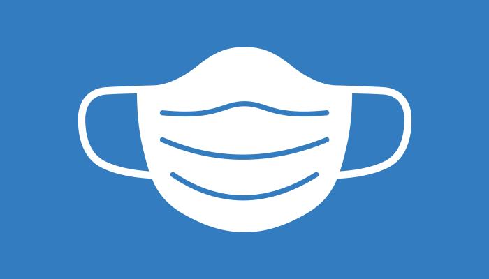 Covid mask illustration