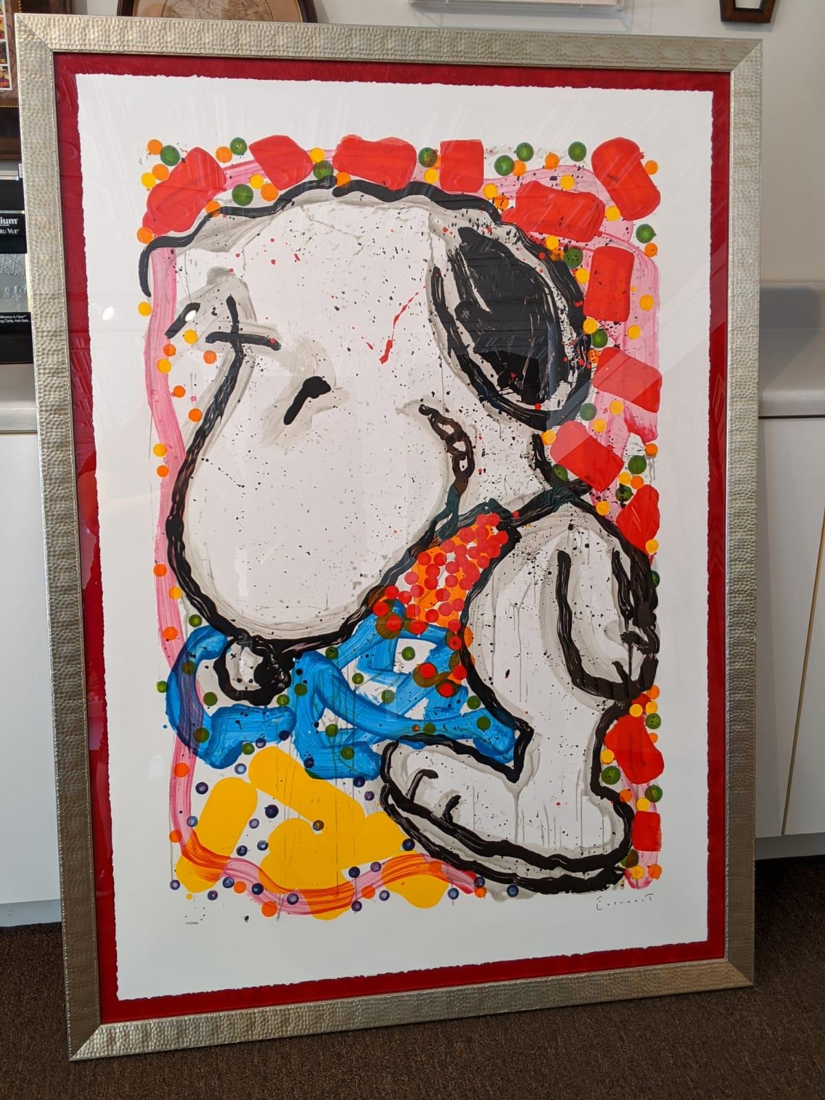 Snoopy framing job The Framemakers