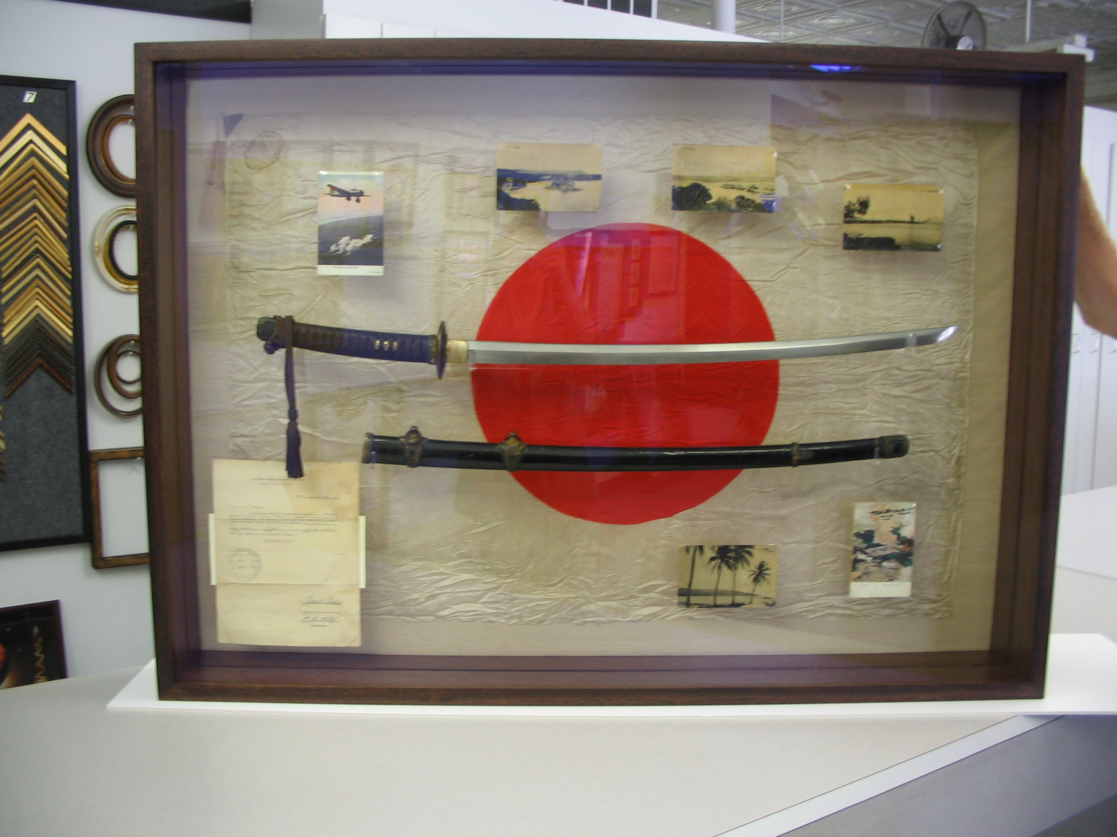 Chinese Swords framed by The Framemakers
