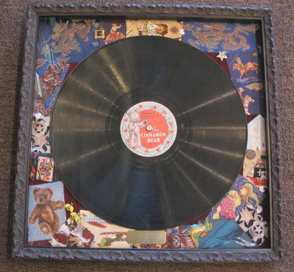 Record framed by The Framemakers