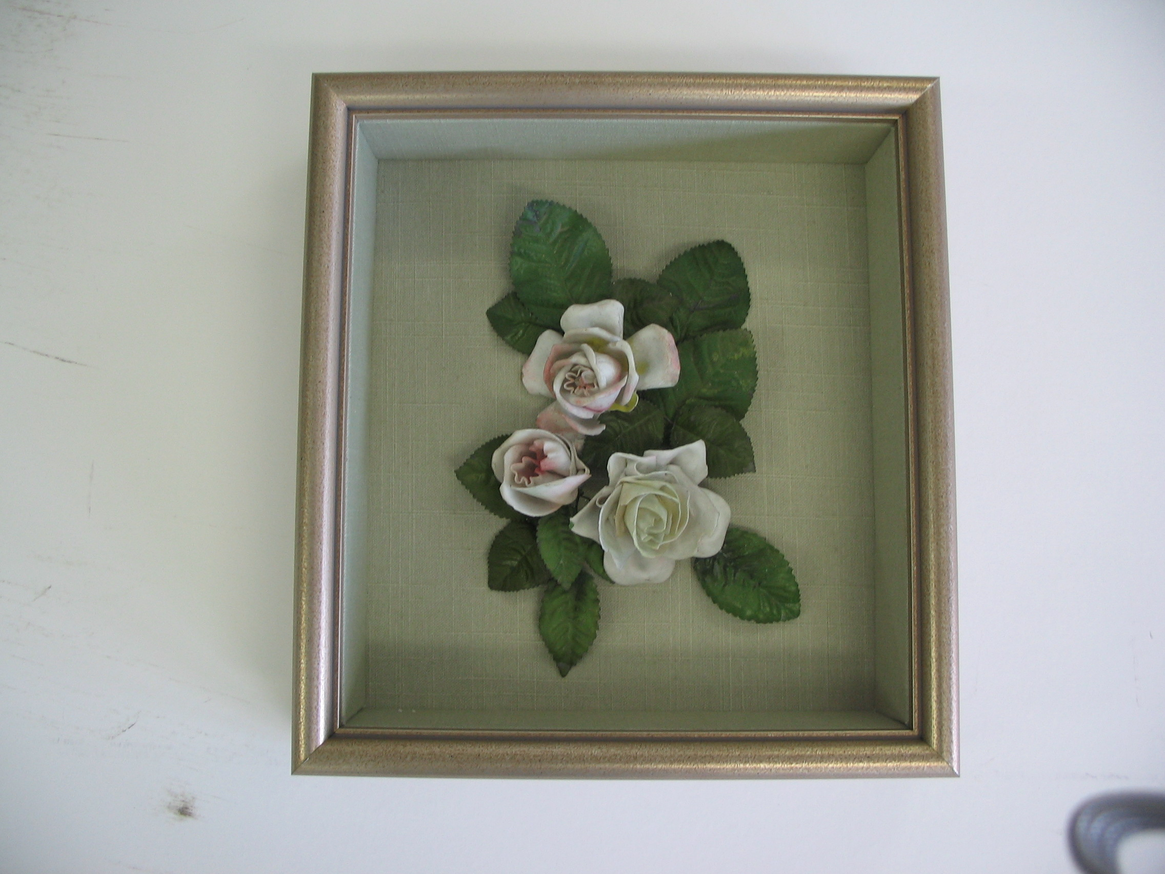 Flowers framed by The Framemakers