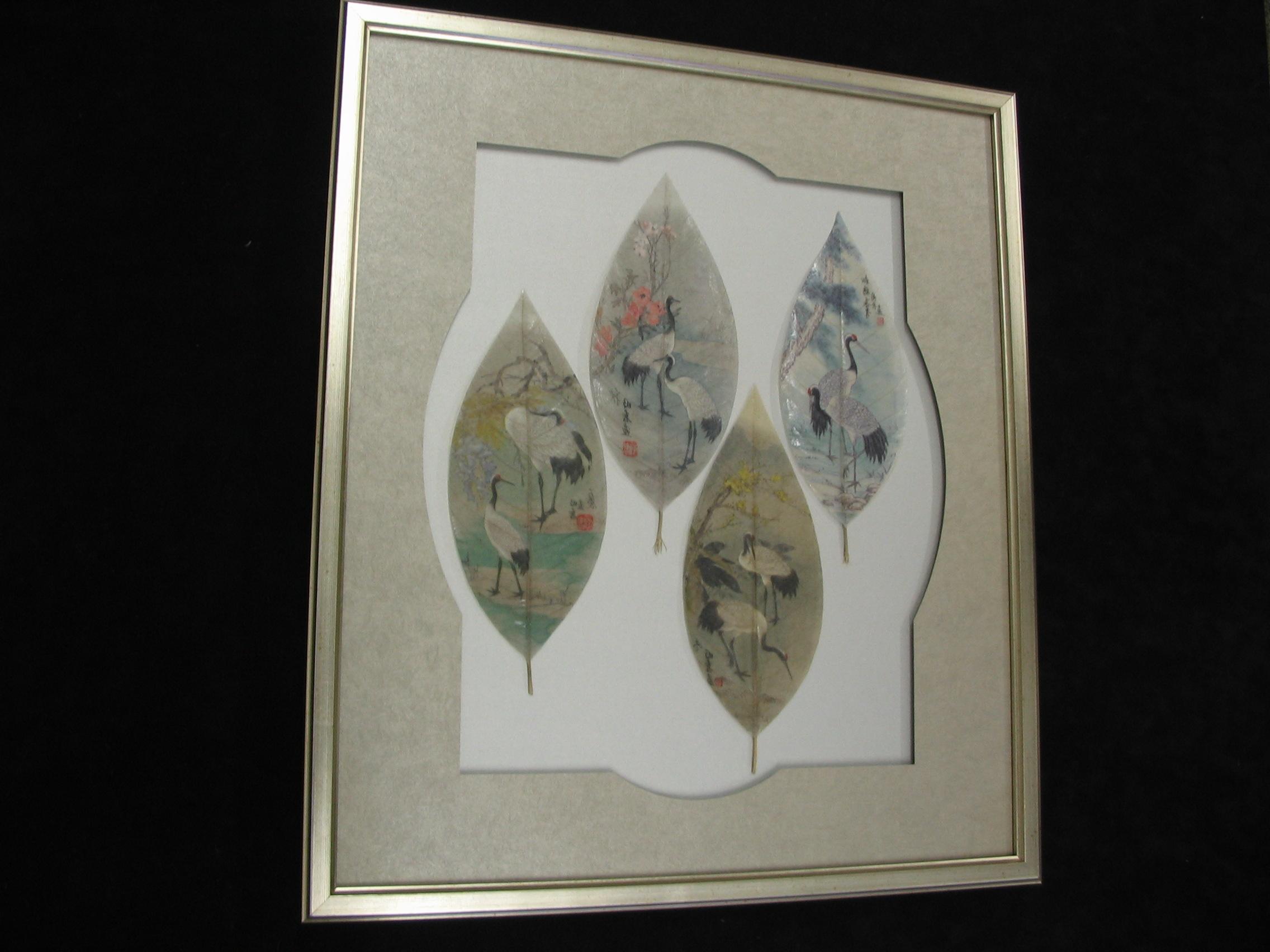 Leaves framed by The Framemakers