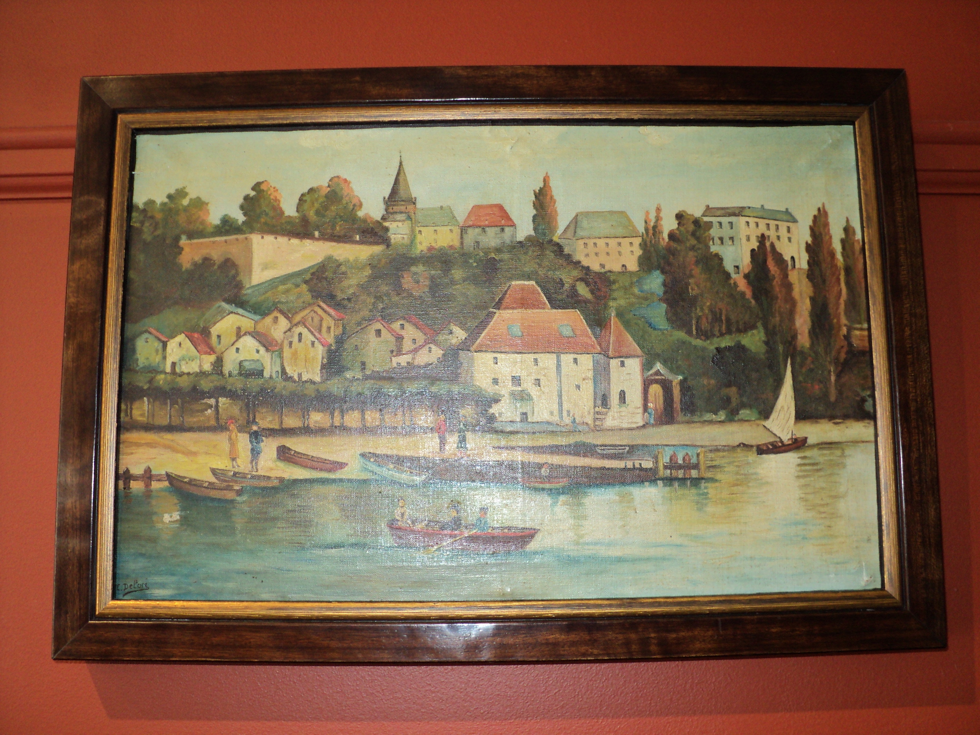 Painting framed by The Framemakers