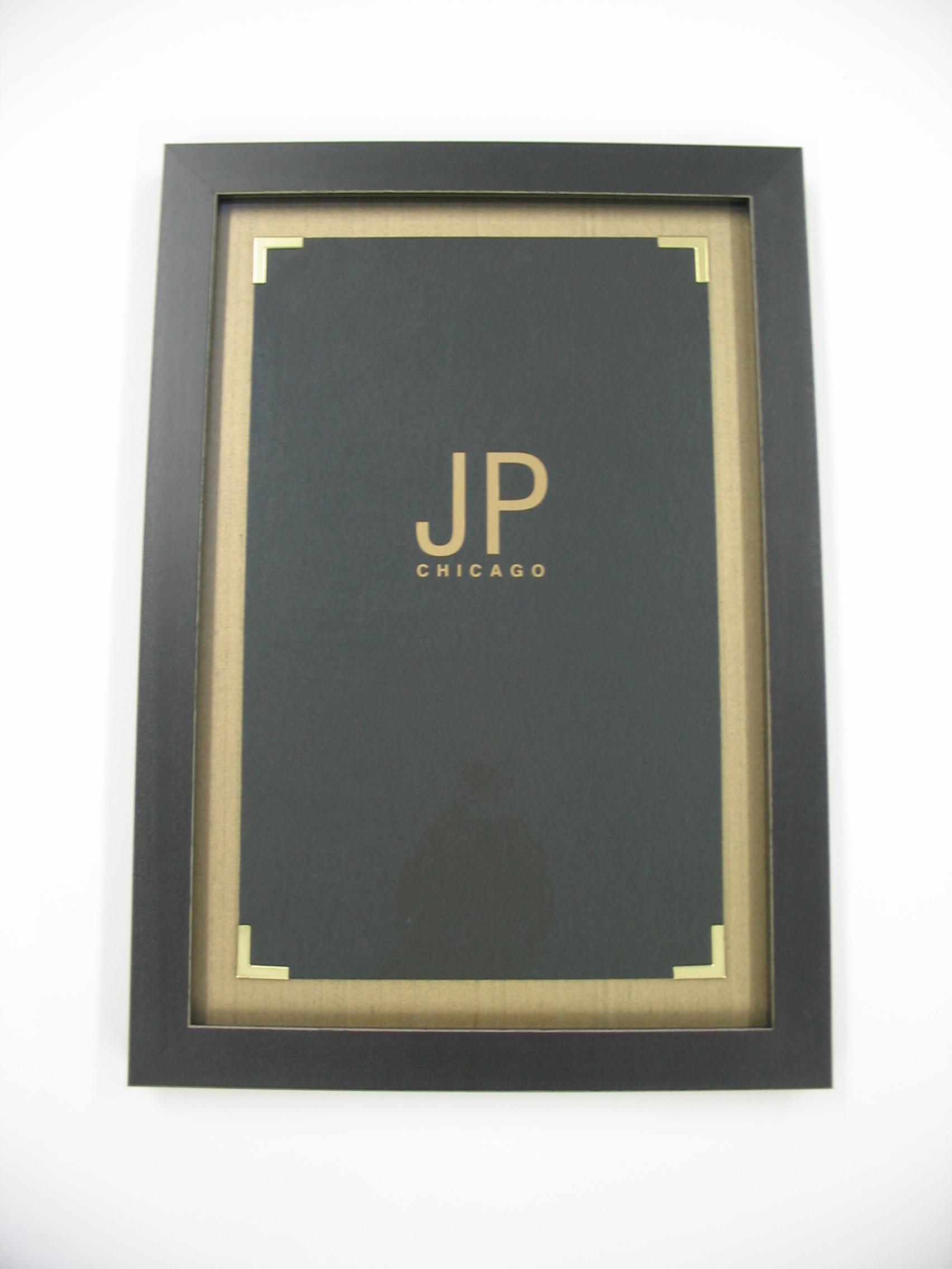 JP framed by The Framemakers