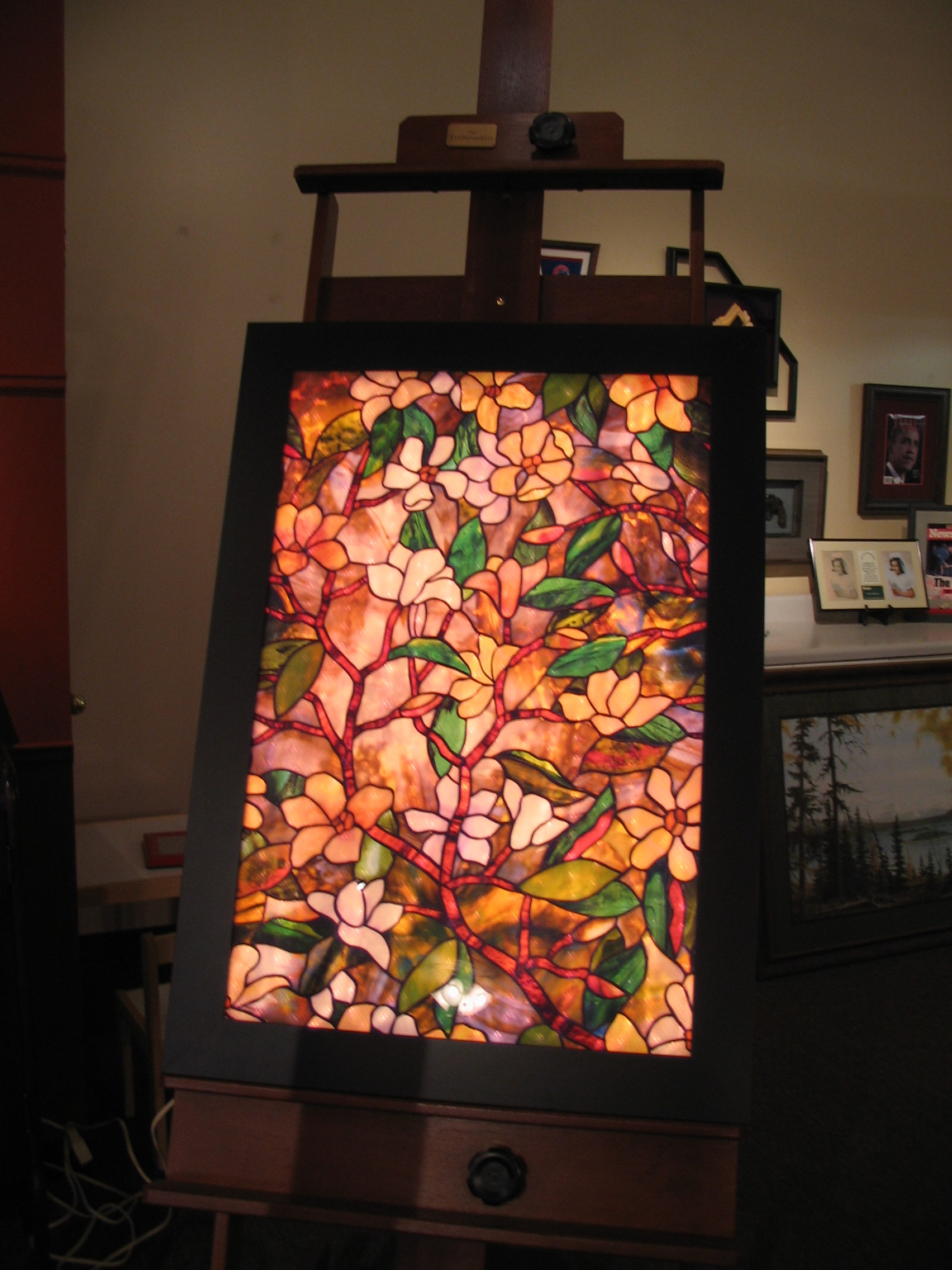 Stained Glass framed by The Framemakers