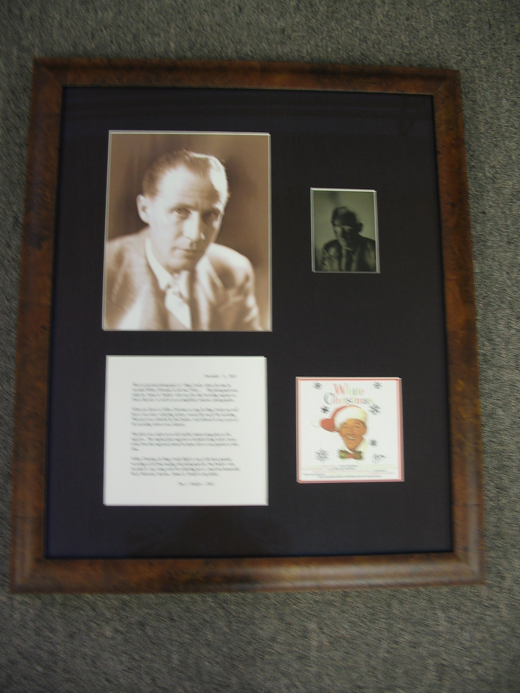 Historical picture framed by The Framemakers