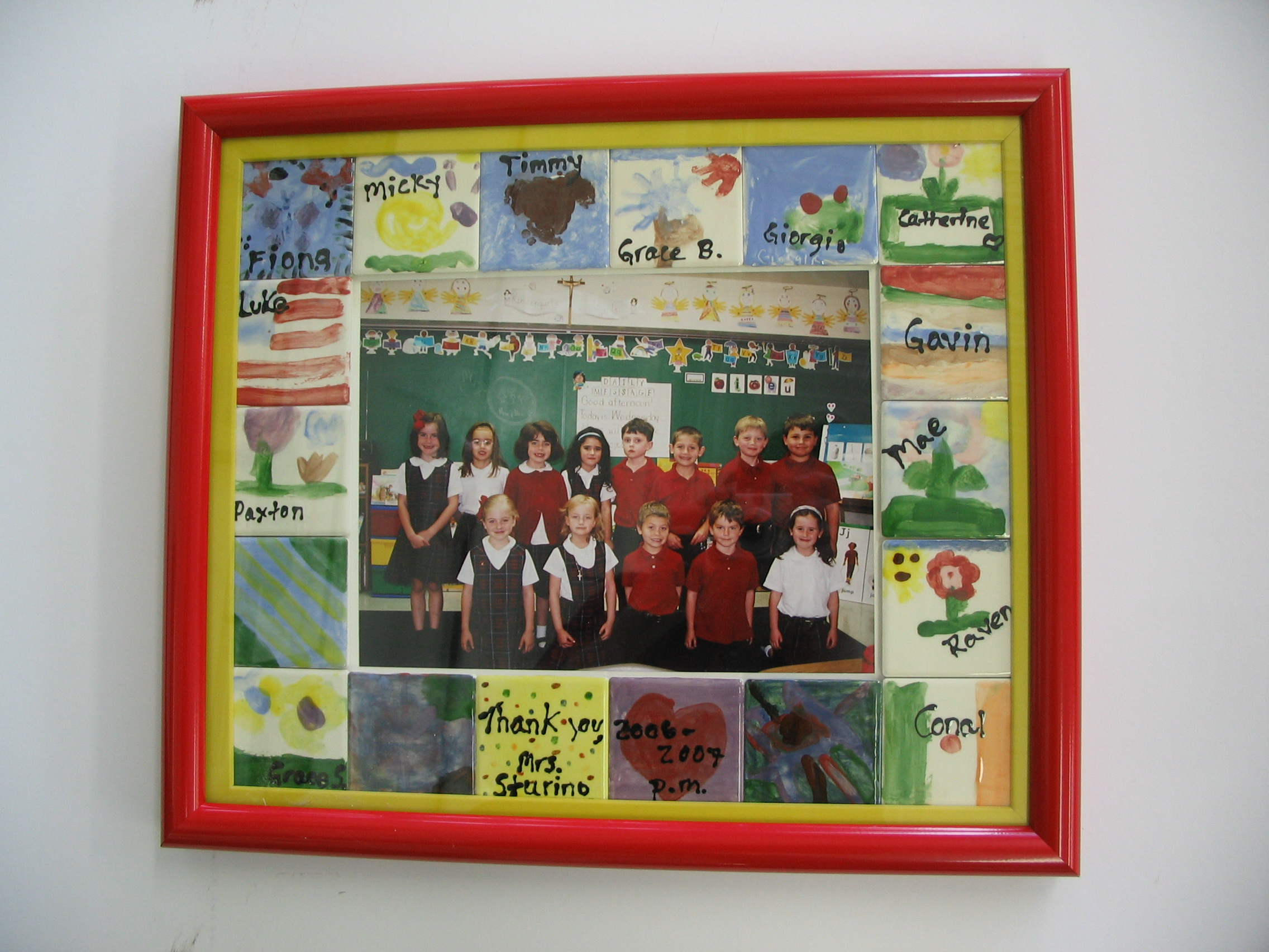 Class framed by The Framemakers