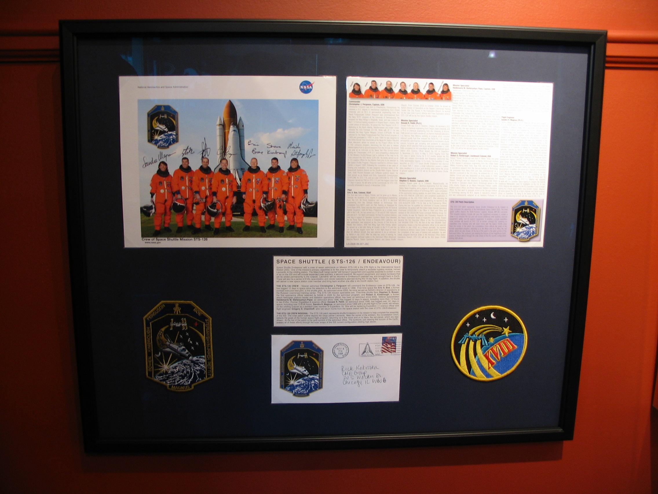 NASA framed by The Framemakers