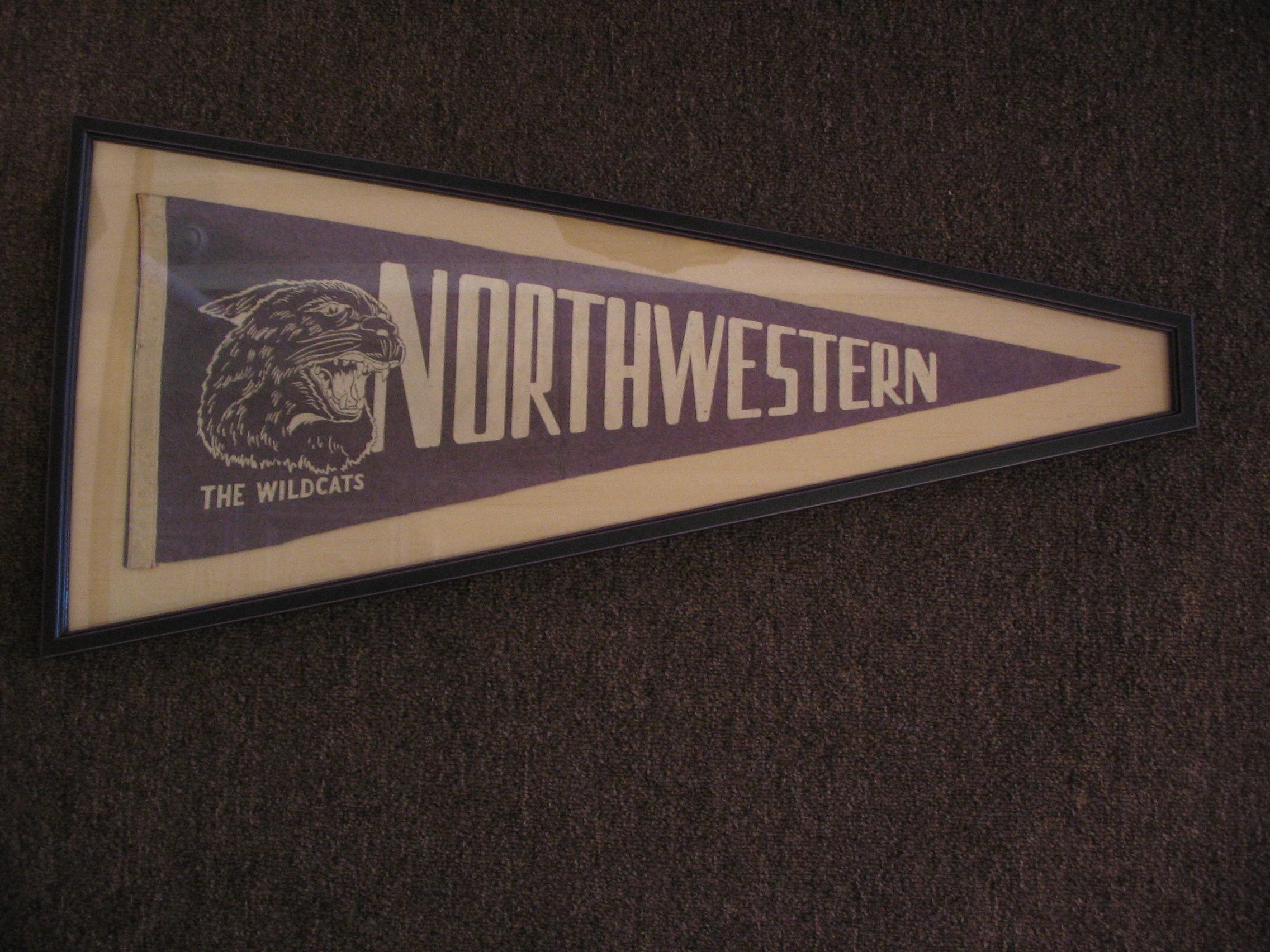 Northwestern framed by The Framemakers