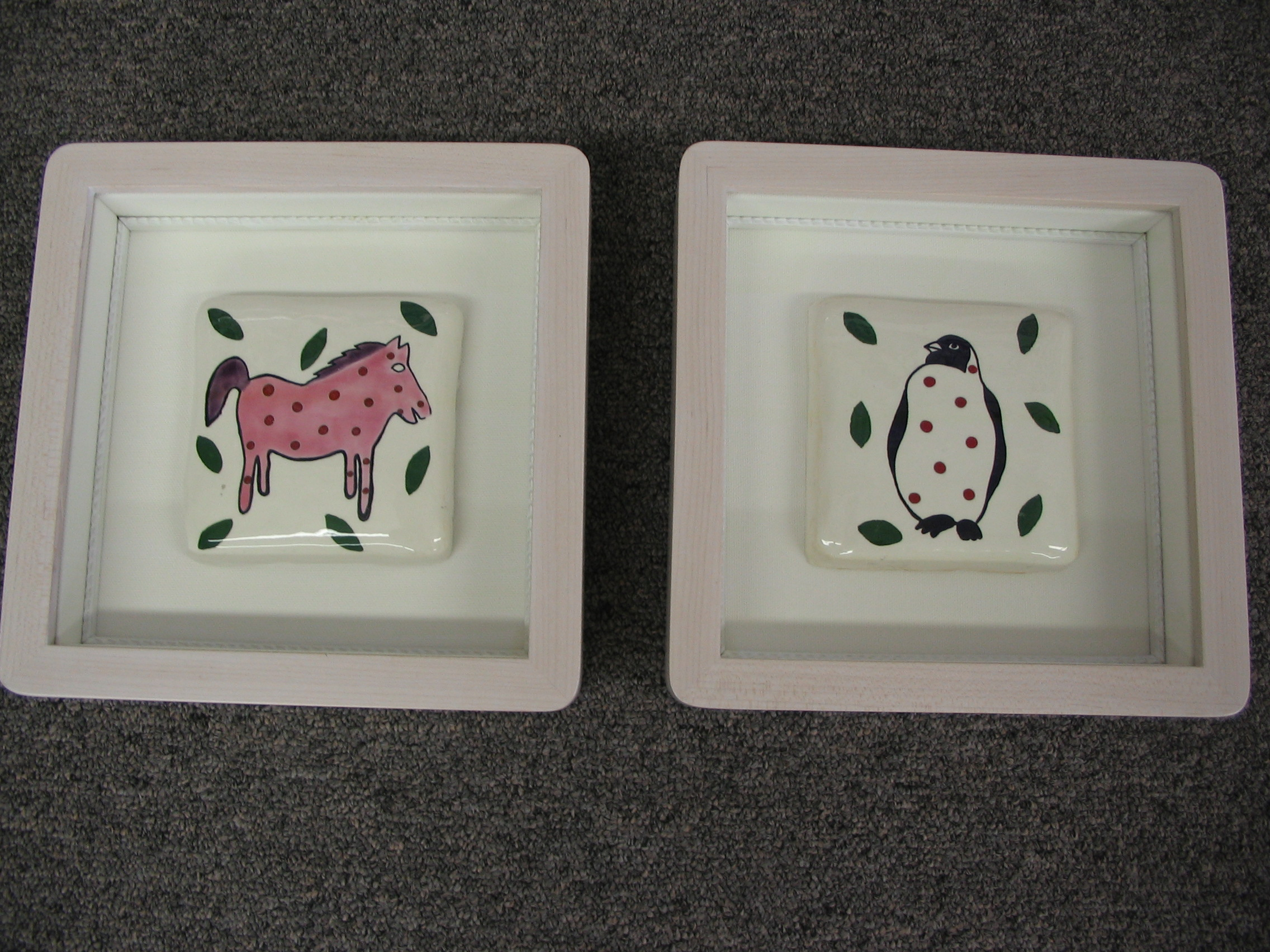 Animals framed by The Framemakers