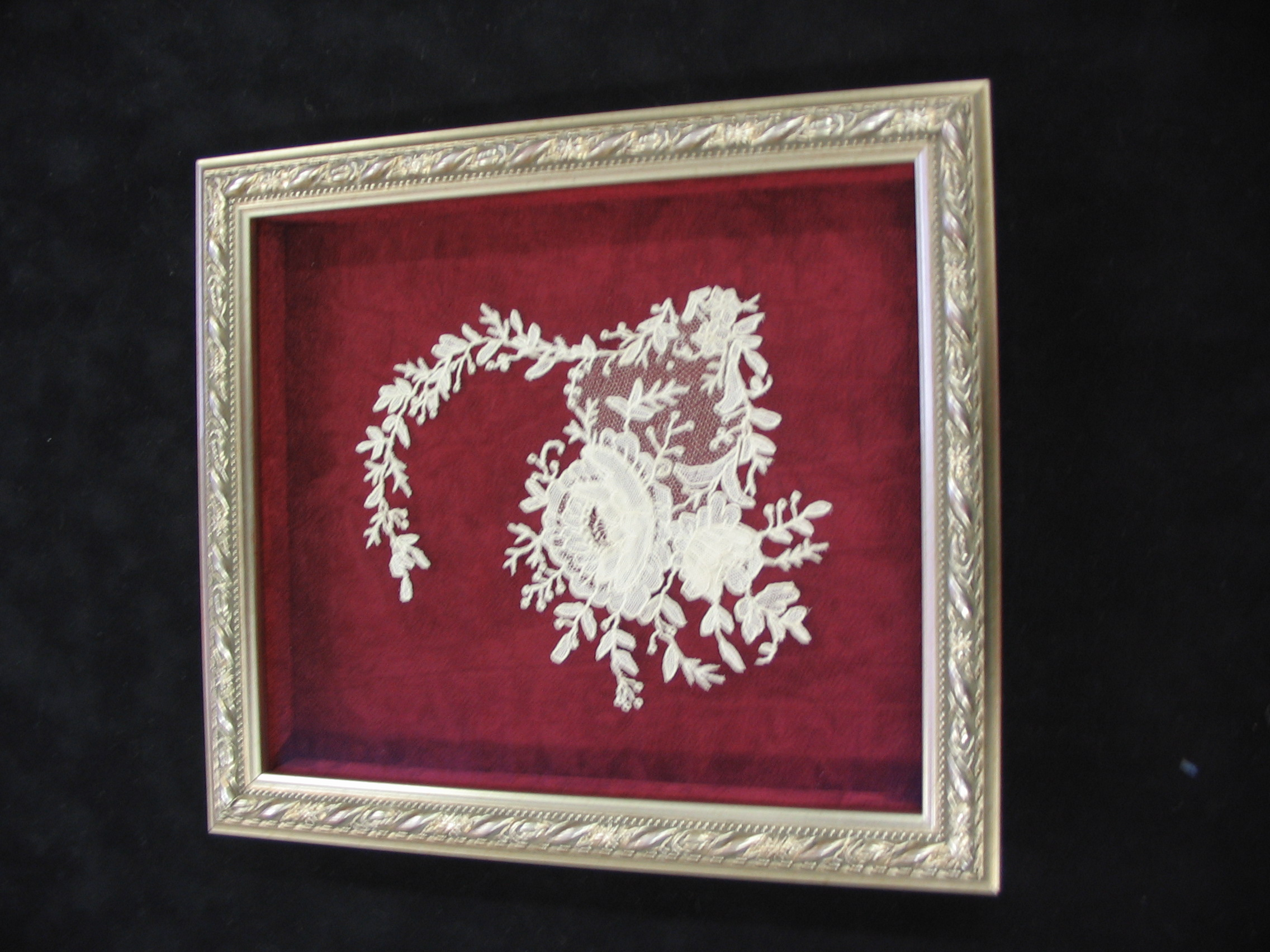Textiles framed by The Framemakers
