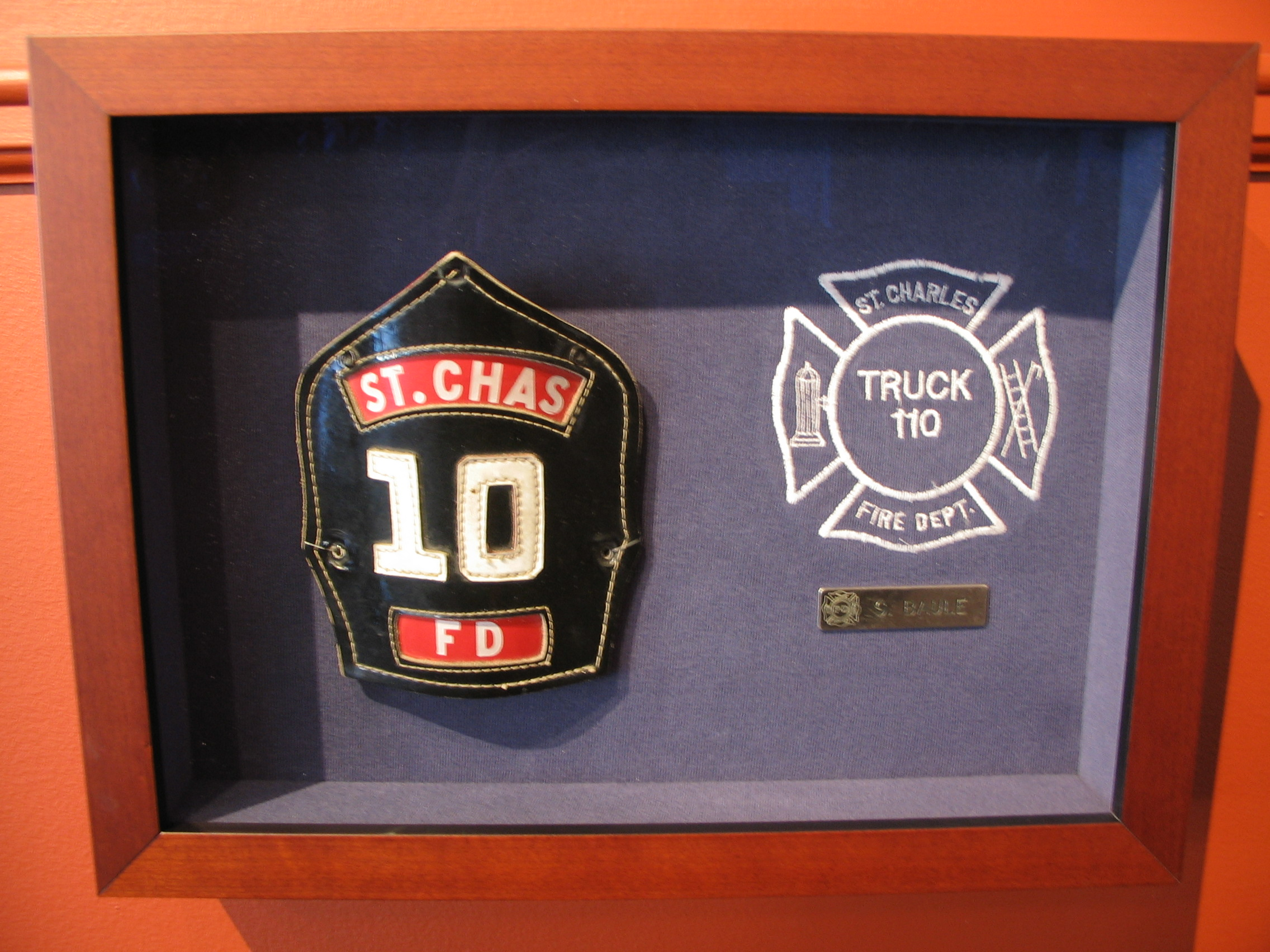 Fire Chief Framed by The Framemakers