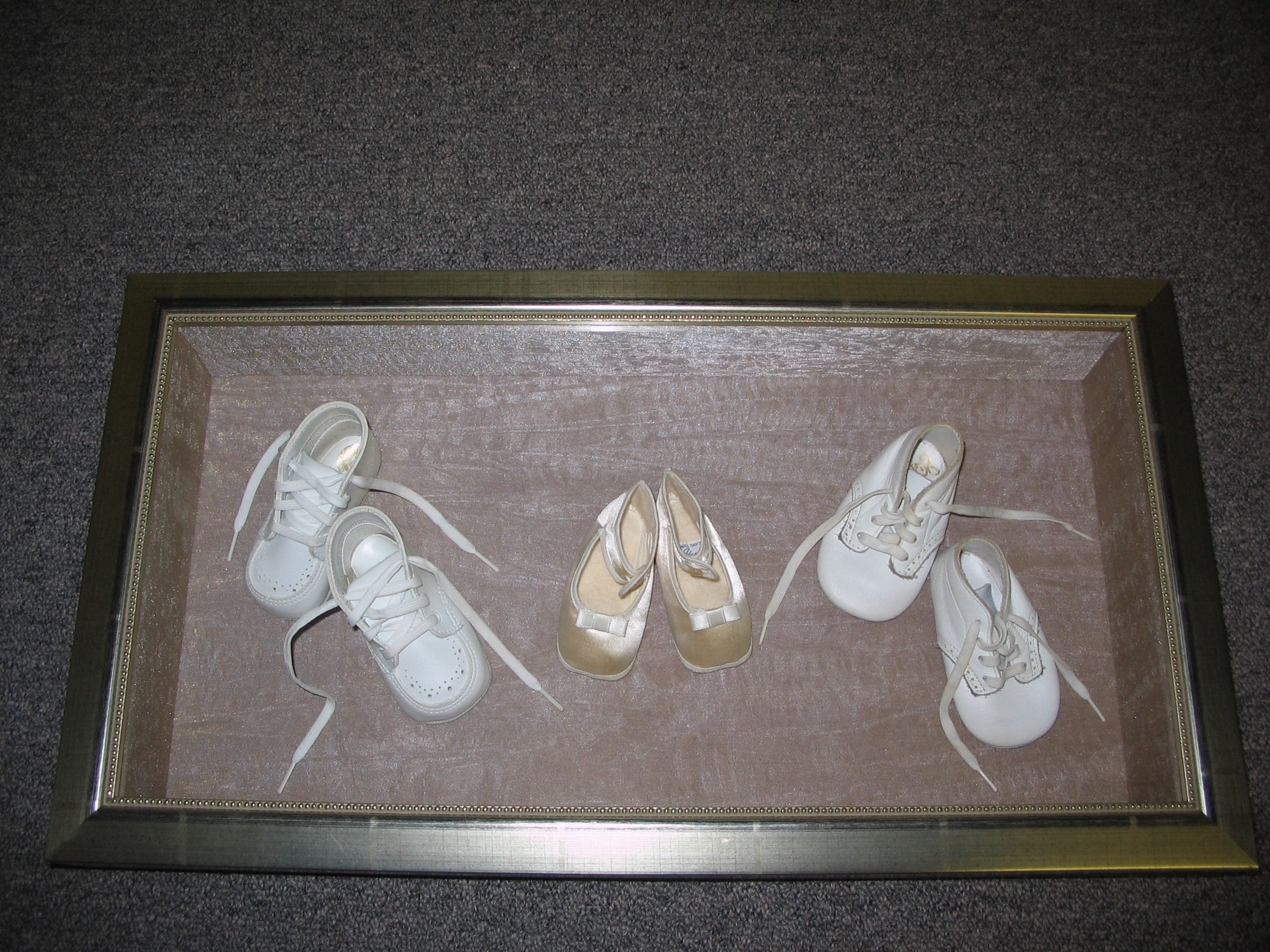 Dance shoes framed by The Framemakers