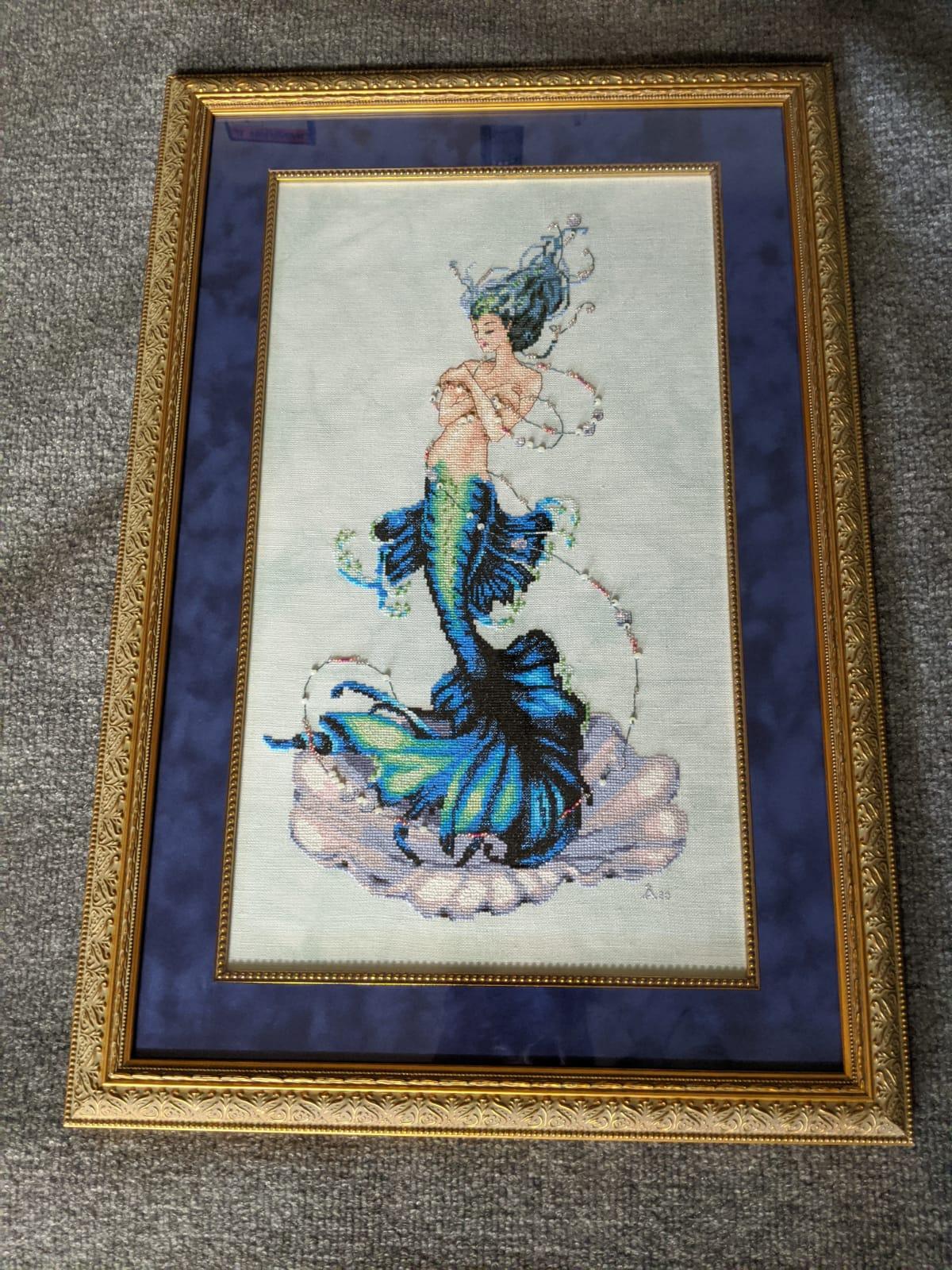 Needlework framed by The Framemakers