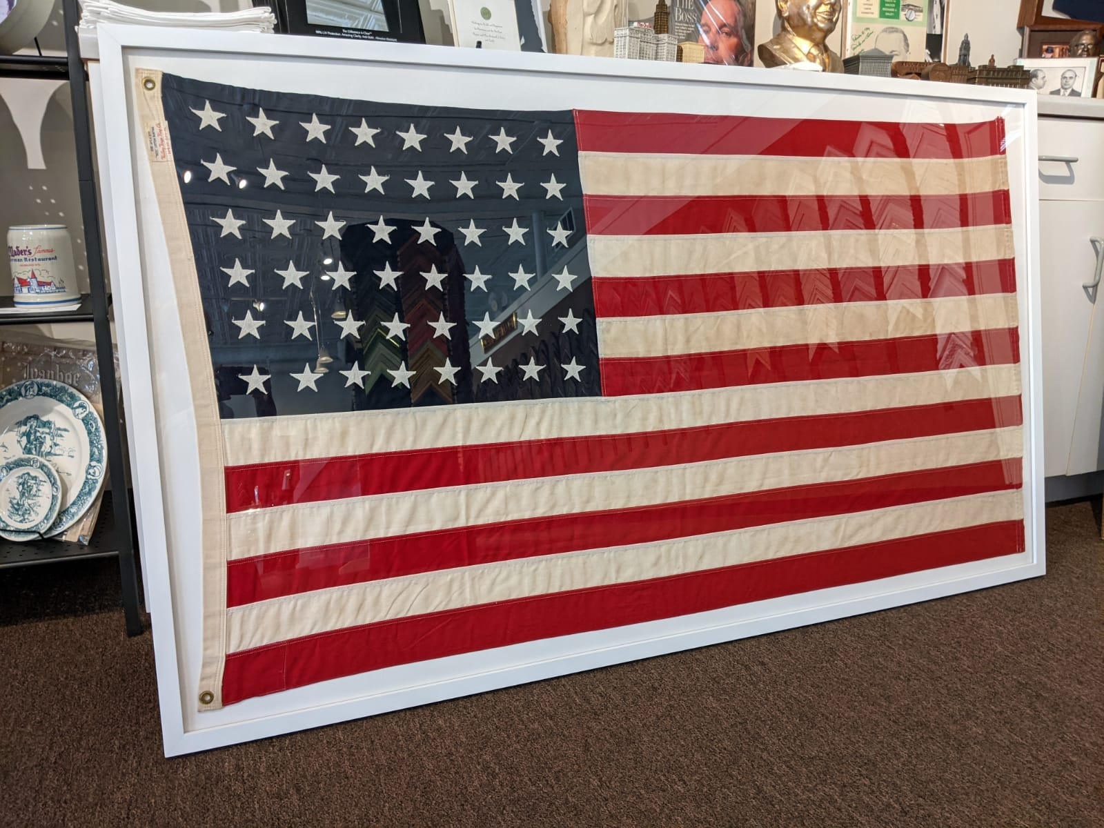 U.S.A flag by The Framemakers