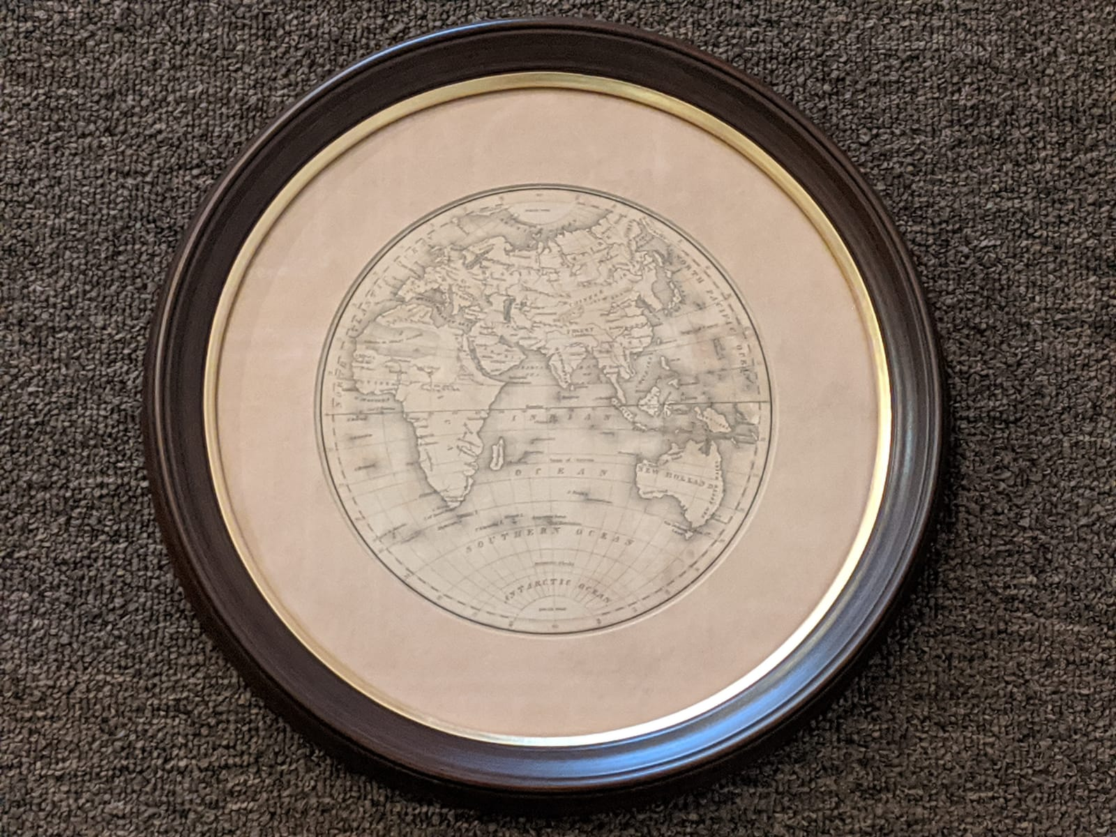 Globe photo by The Framemakers