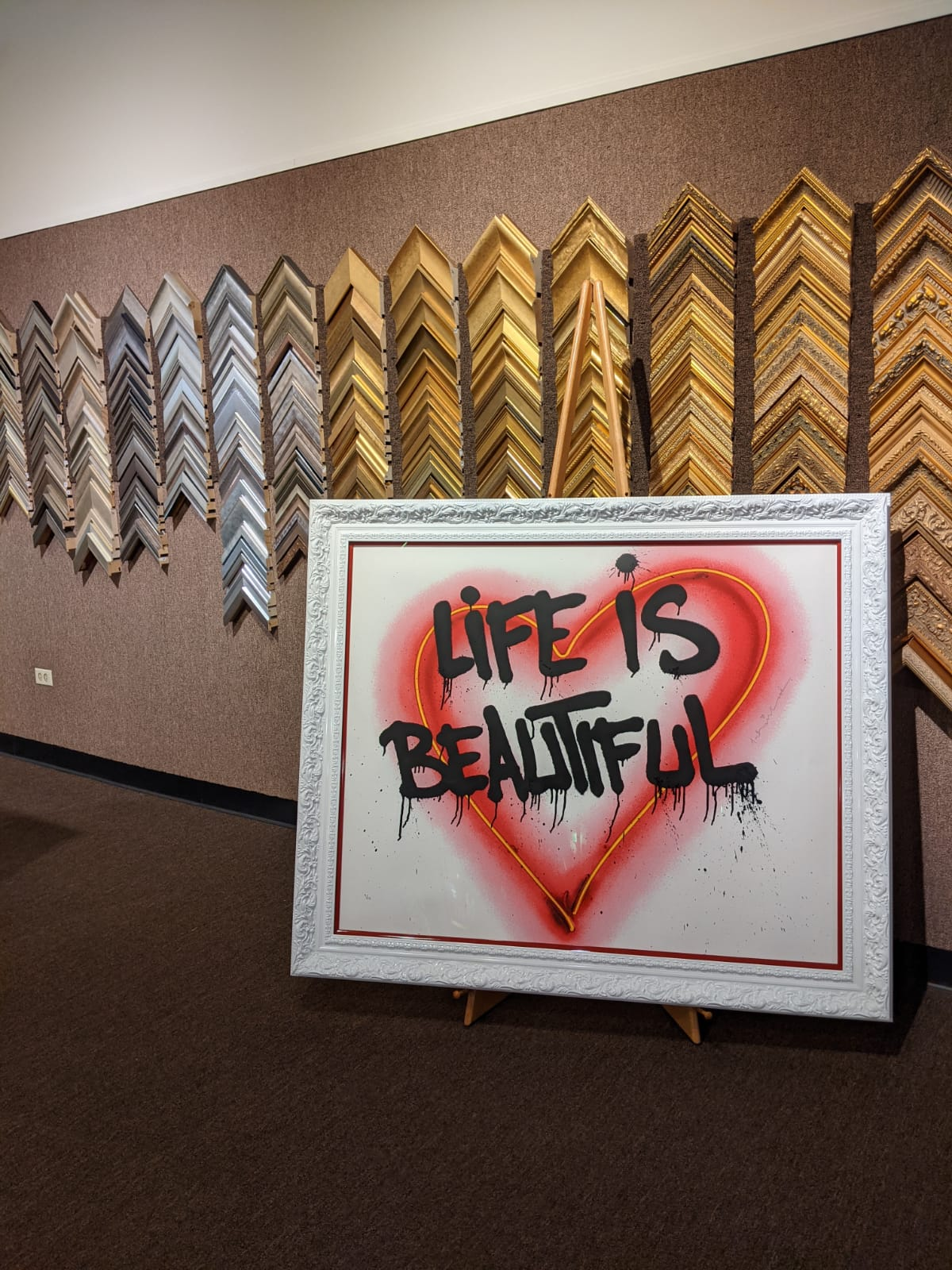 Life is Beautiful by The Framemakers