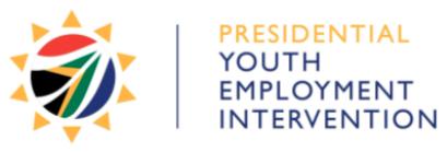 Presidential Youth Employment Intervention logo