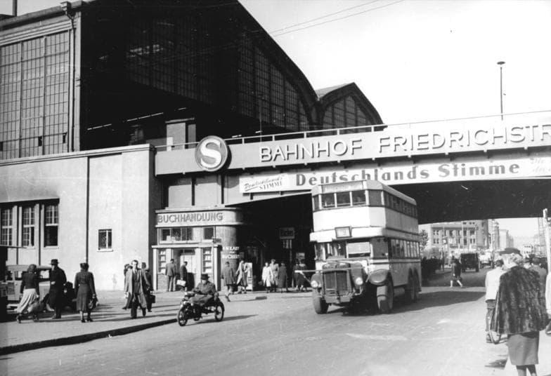 Station Friedrichsstrasse