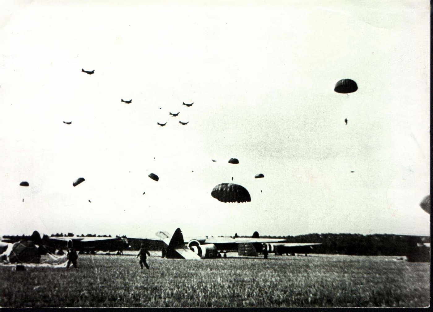 Britse luchtlandingen 17 september 1944 omgeving Oosterbeek