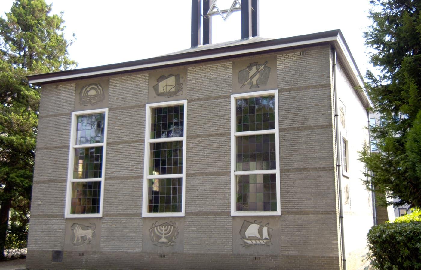 Muurreliefs Synagoge Paslaan