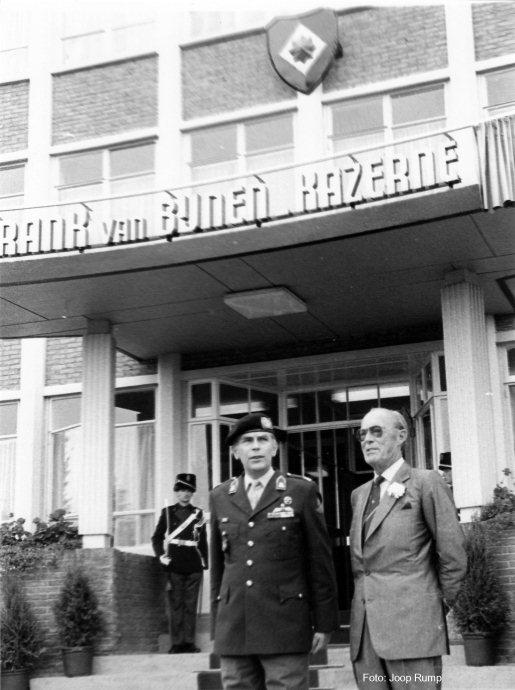 naamgeving Frank van Bijnenkazerne (foto: Joop Rump)