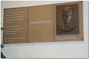 Plaquette Samuel Esmeijer