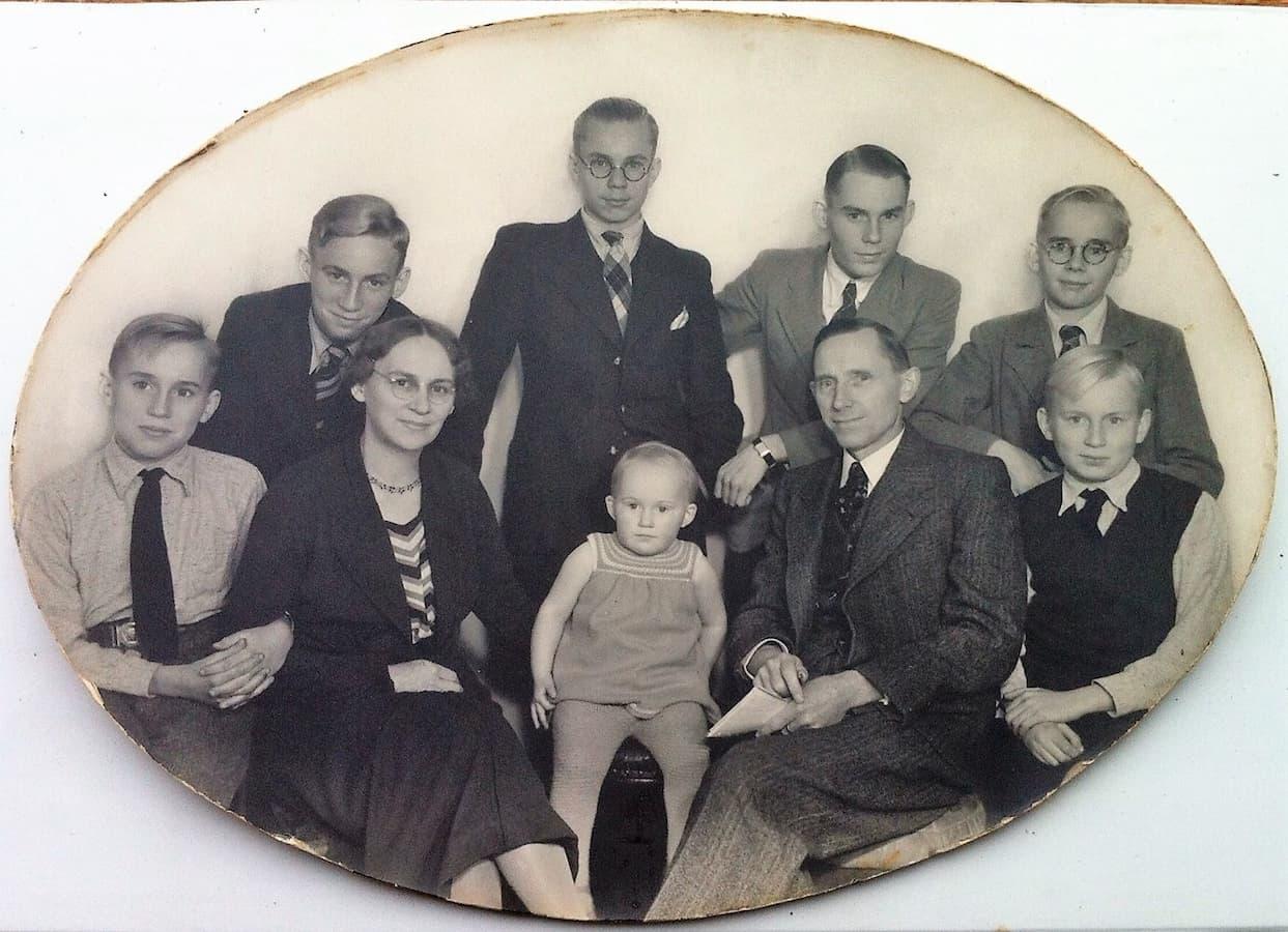 Het gezin Koot in 1937
