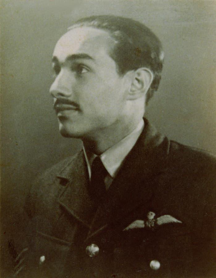 luitenant-vlieger Czeslaw Oberdak (foto: RAF)