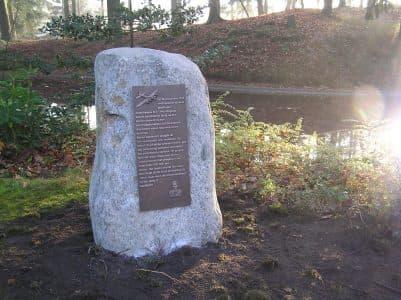 Monument in het Boschbad