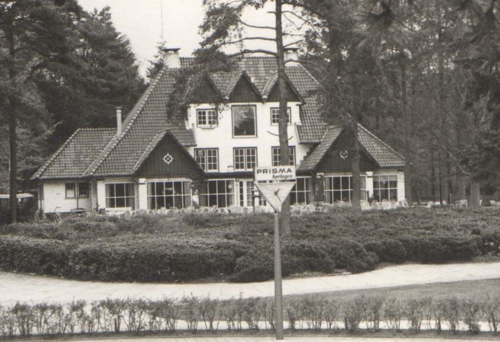 Het restaurant in het Boschbad waar Kyle S. Smith nog net overheen wist te vliegen