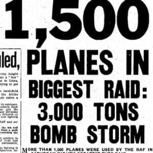 Daily Mirror, 1 juni 1942