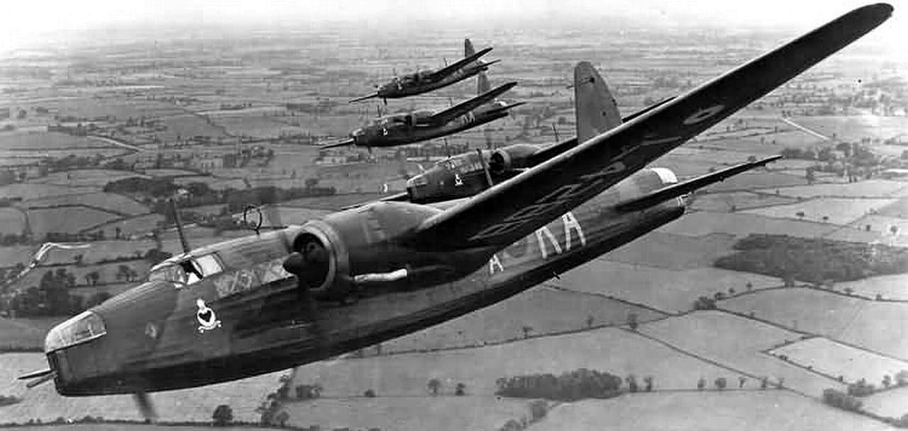 formatie Wellington Mk1 bommenwerpers