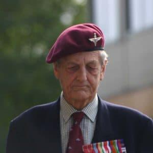 veteraan Colonel (ret.) John Waddy
