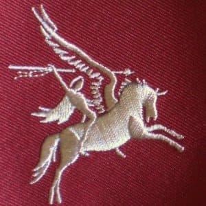 Pegasus, het embleem van 1st Airborne Division