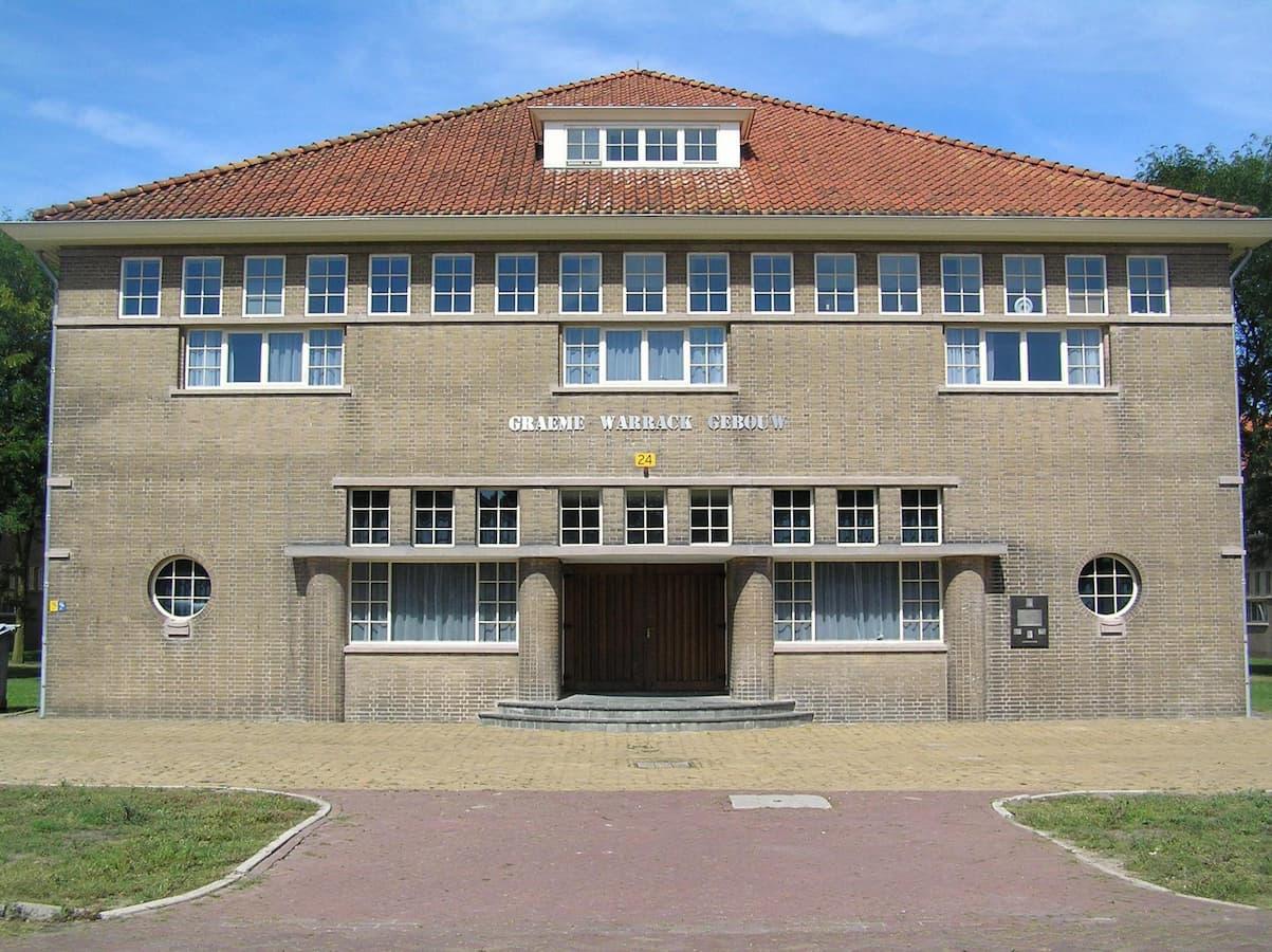 Graeme Warrack gebouw (foto Ellen Beernink)