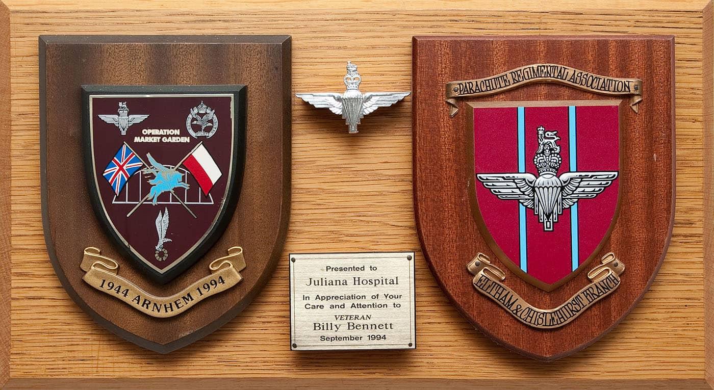 schildjes Parachute Regimental Association (foto Maarten Haazebroek)